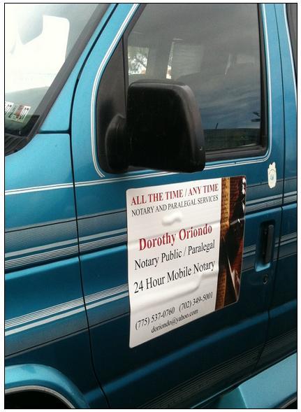 פרסום עורכי דין על רכבים
