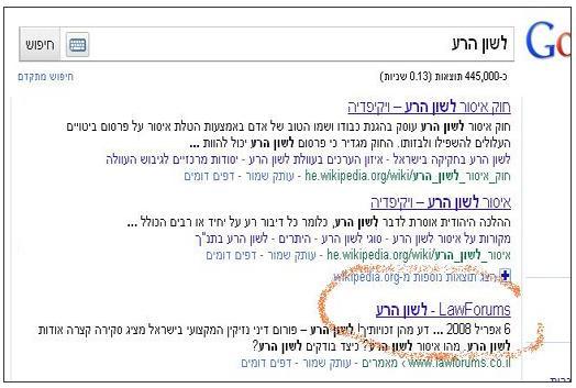 leshon-hara google