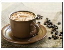 קפה במודעות אדוורדס