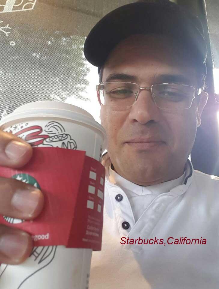 """אחד המקומות האהובים עליי בארה""""ב. קפה סטארבקס"""